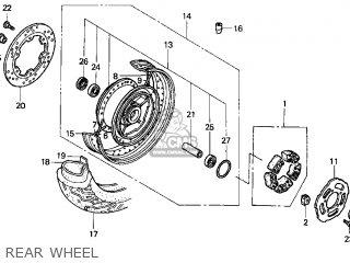 Honda Vt1100c3 Shadow Aero 1998 (w) Usa parts list ...