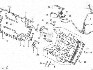 honda vt250f 1982 (c) japan parts lists and schematics  honda vt250f wiring diagram #43