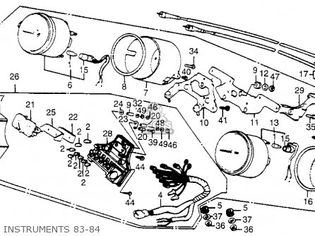 Honda Vf750c Wiring Diagram
