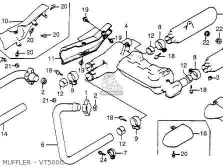 Honda Vt 500 Engine Diagram