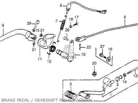 honda vt500c shadow 500 1984 usa parts list partsmanual 1984 honda vt500c wiring