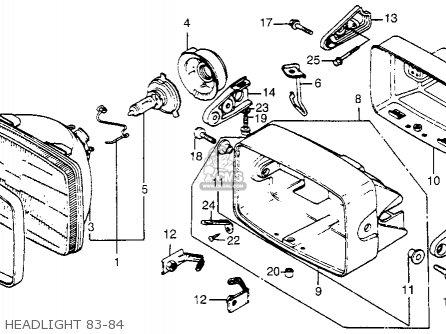 honda vt500ft ascot 1984 (e) usa california parts lists ... 1984 honda vt500c wiring 1984 honda shadow wiring diagram #9