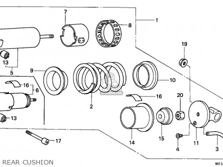 Honda Shadow 750 Engine