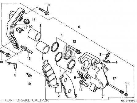 Honda    Vt600c    Shadow       1993    Germany  Kph parts list partsmanual partsfiche