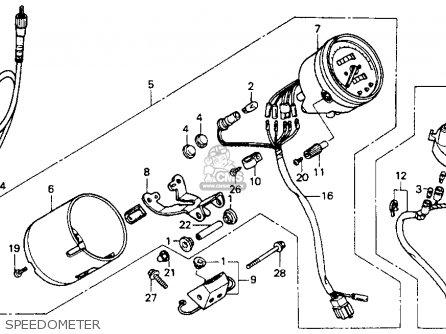 2006 Honda Pilot Odometer Diagrams