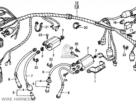 88 Honda Shadow 600 Wiring Diagram