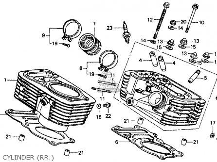Honda Vt600c    Shadow    Vlx 1992 Usa parts list partsmanual
