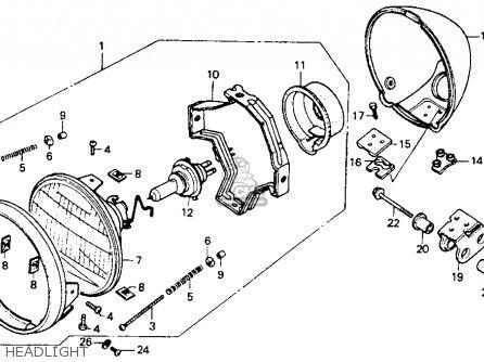 Honda    Vt600c    Shadow    Vlx    1993     p  Usa California parts list partsmanual partsfiche