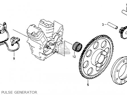 Honda    Vt600c    Shadow    Vlx    1993    Usa parts list partsmanual partsfiche