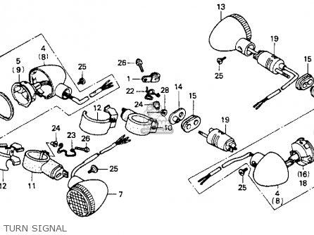Honda    VT600C    SHADOW    VLX 1994  R  USA CALIFORNIA parts lists and schematics