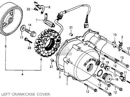Honda Vt600c Shadow Vlx 1994 R Usa Parts List