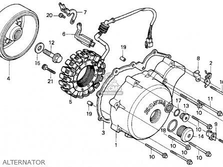Honda Vt600c Shadow Vlx 1995 (s) Usa California parts list ...