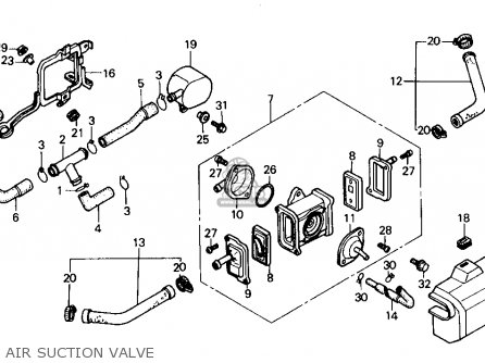 Honda Shadow Vt 700 Engine Diagram