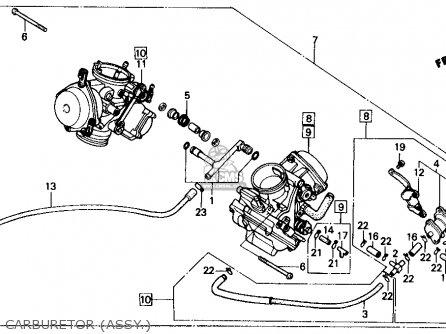 honda vt700c shadow 1986  g  usa parts list partsmanual