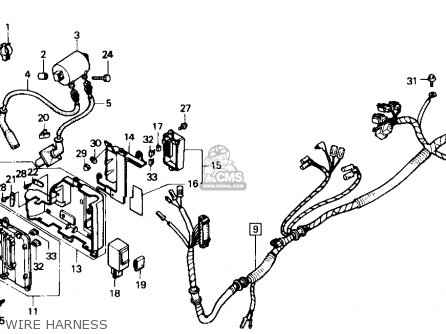 1984 Honda Shadow Vt700 Wiring Diagram on magna parts