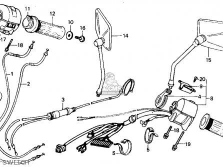 Honda Vt700c Shadow 1987 H Usa California Parts Lists And Schematics
