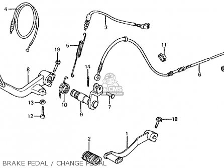 honda vt750c shadow 1983  d  usa parts list partsmanual