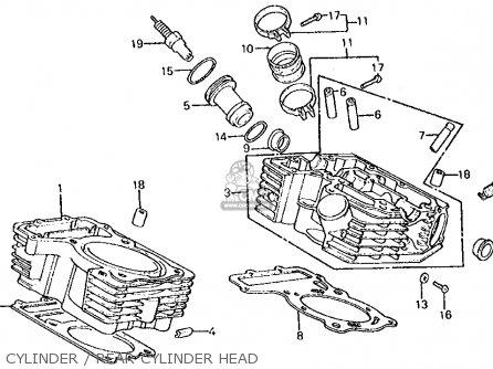 honda vt750c shadow 750 1983 usa parts list partsmanual