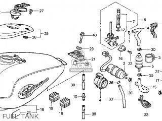Honda Vt750c Shadow 750 1998 Usa Parts Lists