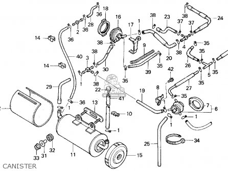 1987 Honda 700 Shadow Wiring Diagram