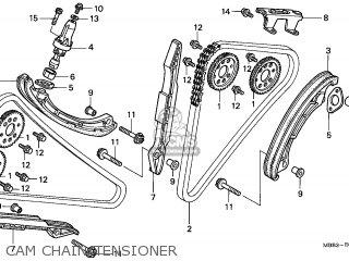 Honda Vtr1000f Firestorm 1998 (w) England parts list ...
