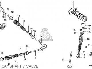 honda vtr1000f superhawk 1998  w  usa parts lists and