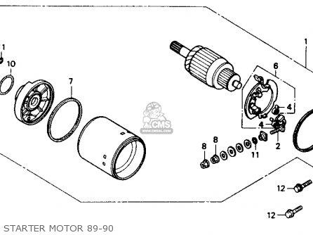 honda vtr250 interceptor vtr 1990 usa parts list