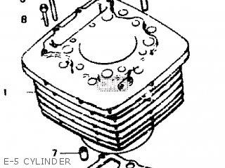 honda xbr500 1985 (f) england e-5 cylinder  e-5 cylinder  honda xbr500