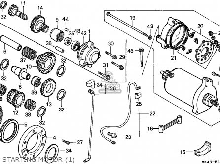 5 Hp Honda Engine Parts Diagram
