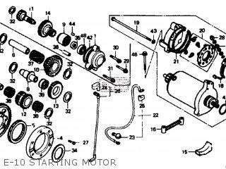 e-10 starting motor