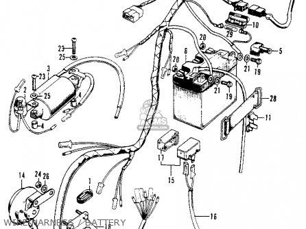Honda XL100 K0 1974 USA parts lists and schematicsCmsnl.com