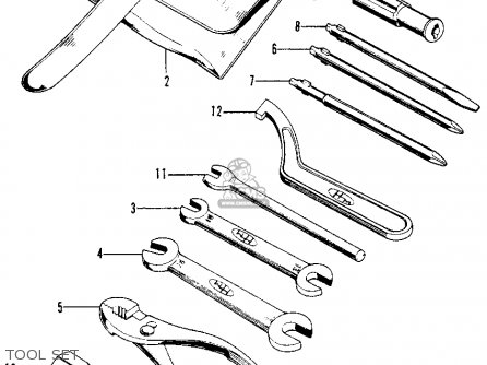 Honda Xl100 K0 Usa Tool Set