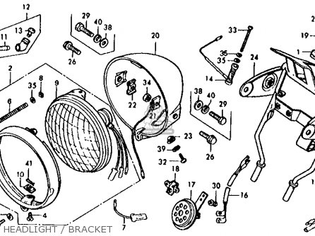 1978 Honda Xl 125 Wiring Diagram on wiring diagram of motorcycle honda