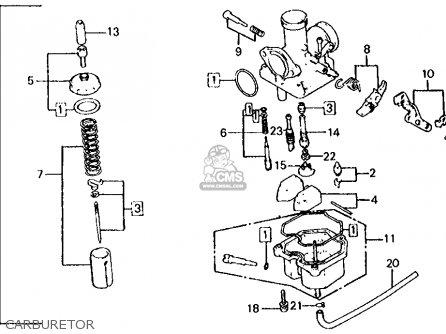 Honda       XL125S    1979  Z  USA parts lists and schematics