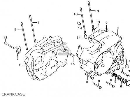 Honda       Xl125s    1979  z  Usa parts list partsmanual partsfiche