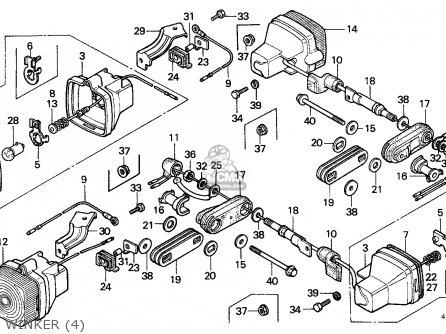 Honda XL125S 1981 (B) GENERAL EXPORT / KPH parts lists and ...