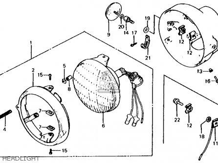 honda xl125s 1982  c  usa parts list partsmanual partsfiche