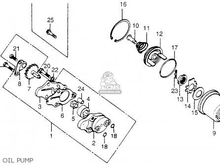 Partslist further Partslist additionally  on 1978 honda xl175 engine oil …
