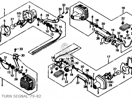 1980 Honda Cx500 Wiring Diagram
