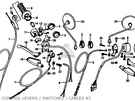 1986 Honda Vt500c Shadow Wiring Diagram