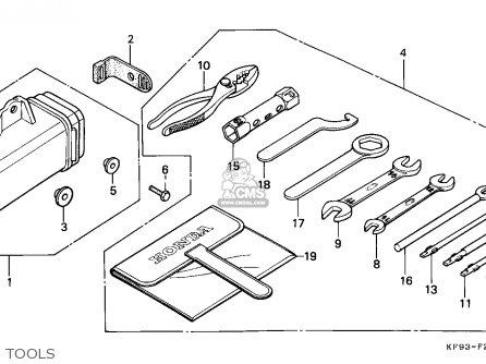 Wiring Diagram Honda Xl600r
