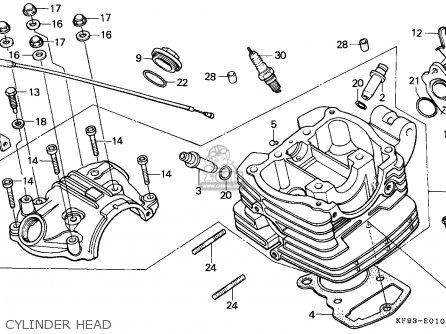 Honda Xl185s 1992 N Singapore Parts Lists And Schematics