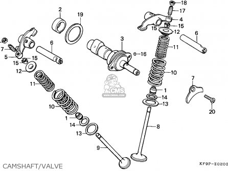Honda Xl185s 1993 P Singapore Parts Lists And Schematics