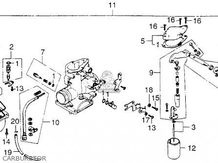 Honda Xl250 Motosport 1976 Usa Carburetor