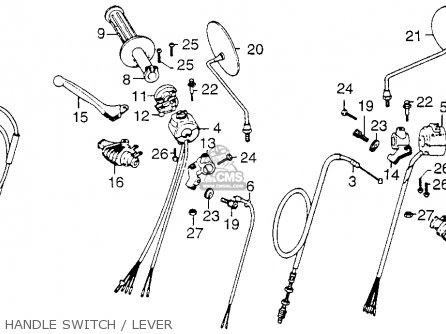 honda xl250 motosport 1976 usa parts list partsmanual. Black Bedroom Furniture Sets. Home Design Ideas
