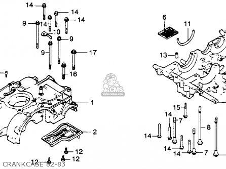 1974 honda cb450 wiring diagram honda xl250r wiring honda xl250r 1982 (c) usa parts list partsmanual partsfiche #11