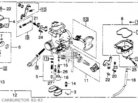 Honda Big Red 3 Wheeler Engine Diagram also Partslist further Partslist additionally 44749 1983 Honda Xl250r Muffler as well 1982 Honda Xr80 Wiring Diagram. on 1983 honda xl 250