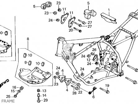 harley frame diagram can diagram wiring diagram