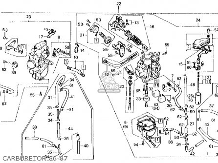 honda xl250r 1986 g usa parts list partsmanual partsfiche. Black Bedroom Furniture Sets. Home Design Ideas