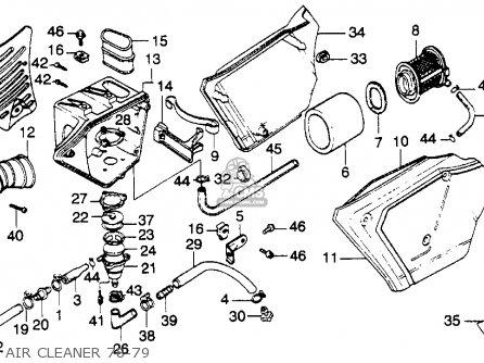 honda xl250s 1978 usa parts list partsmanual partsfiche. Black Bedroom Furniture Sets. Home Design Ideas